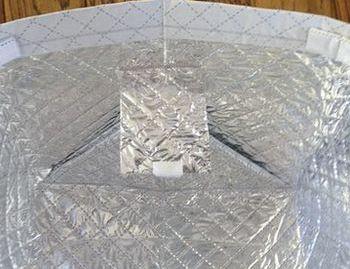アルミ+ラミネート加工のマイかごカバー