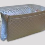 マイバスケットやマイかごに保冷効果のある外付けカバーをつける