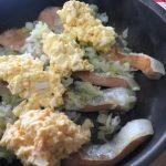 シャケの卵のせ