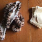 豹柄のスヌード